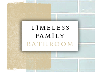 Spinks Interiors | Family Bathroom Inspiration