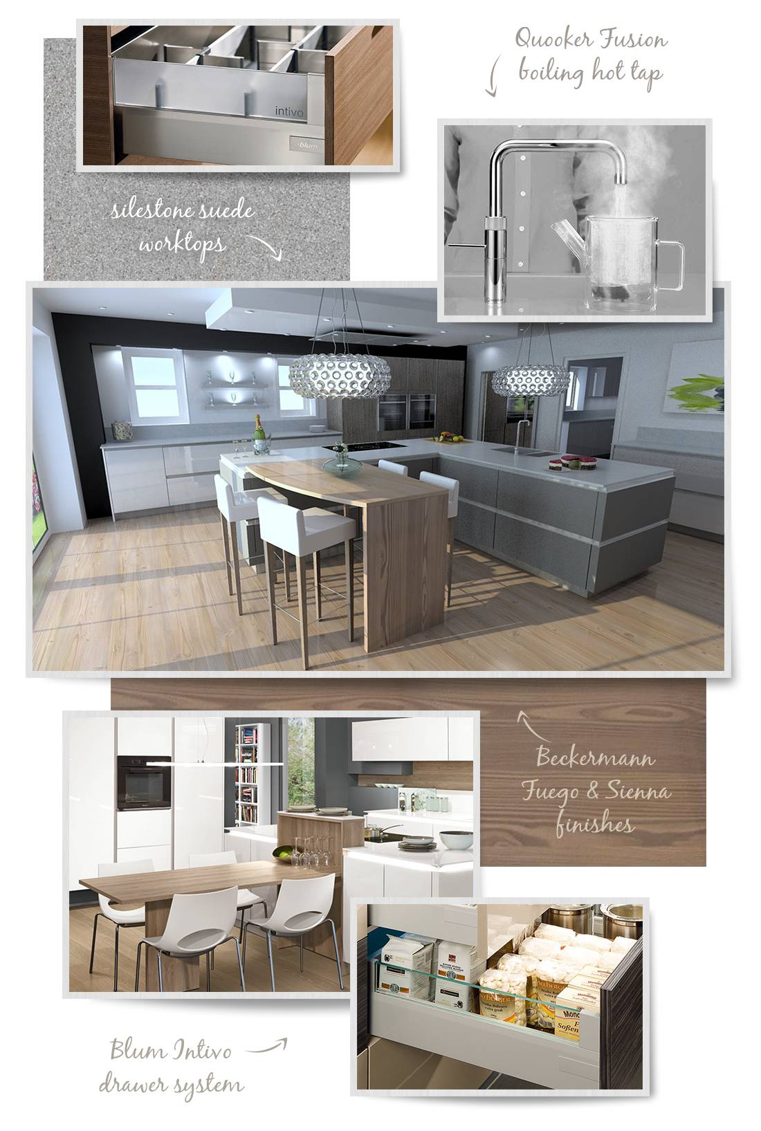 Spinks Interiors | Modern Designer Kitchen Inspiration