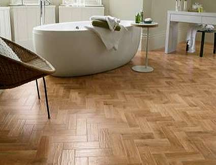 Spinks Interiors | Blond Oak Parquet