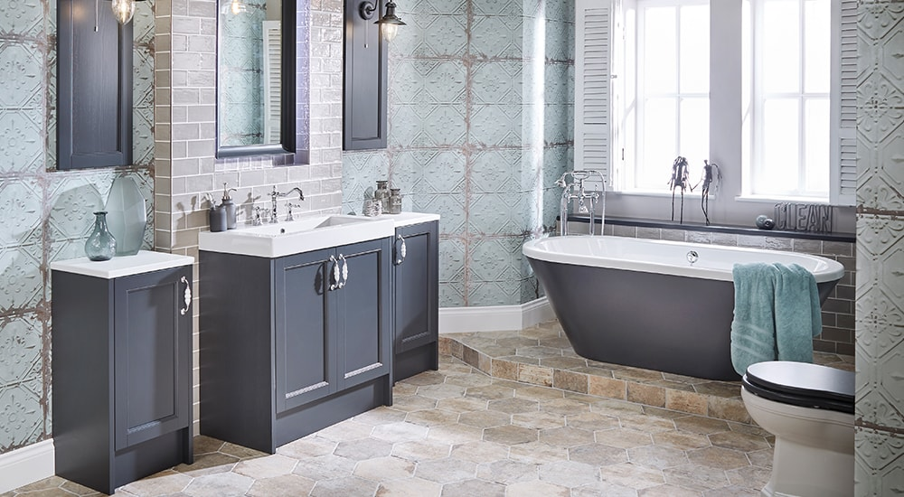 elegant traditional bathrooms. utopia roseberry vintage fusion elegant traditional bathrooms