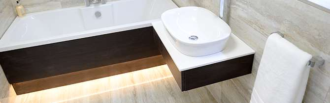 contemporary bathroom doncaster leeds worksop