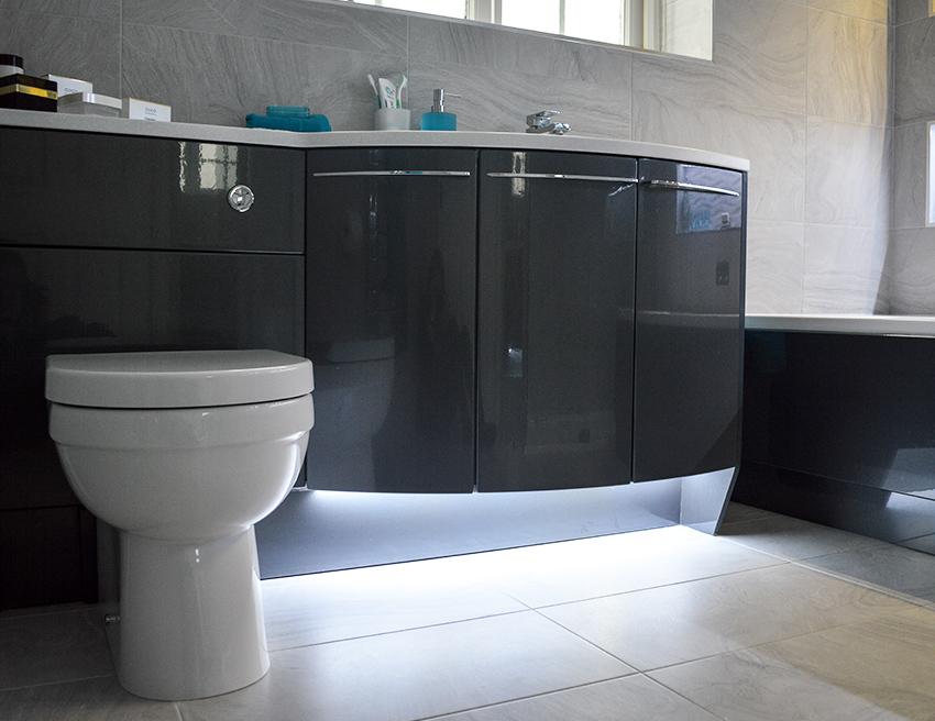 bathroom design doncaster toilet led lights
